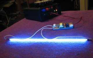 Применения неоновой подсветки в интерьере и экстерьере