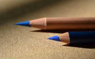 Как точить карандаш? Профессионально. Как художник.