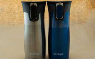 Термокружка-непроливайка Contigo WestLoop. Мировая легенда