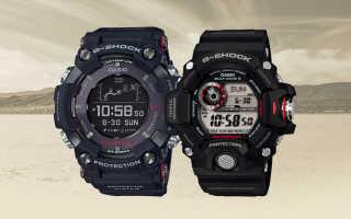 Обзор мужских часов Casio Rangeman G-Shock GPR-B1000