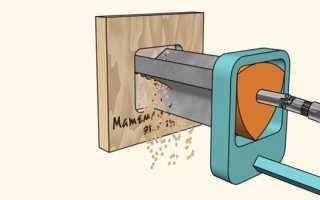 Сверло для квадратных отверстий