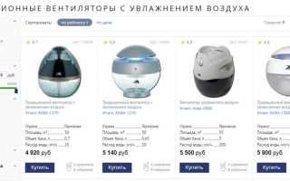 Вентилятор с увлажнителем воздуха – эконом-вариант эффективного кондиционирования