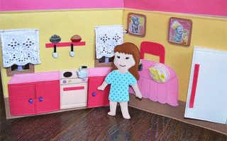 Набор для самостоятельной сборки «Кукольный домик» или как занять взрослого на три дня!