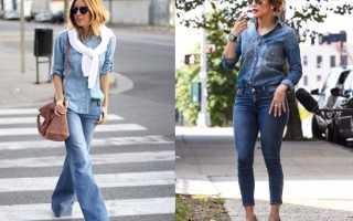 Существующие варианты джинсов для высоких мужчин, стильные сочетания