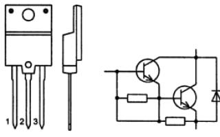 Чем заменить BU808DF, аналог