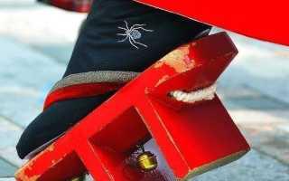 8 Типов традиционной Японской Обуви