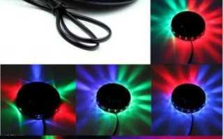 Простые схемы цветомузыки на светодиодах и светодиодных лентах для сборки своими руками