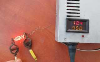 Защита от переполюсовки и к.з. зарядного устройства