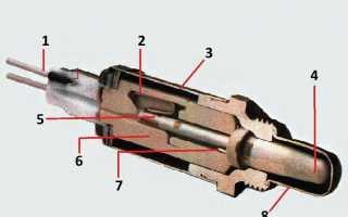 Распиновка лямбда зонда на 4 провода. Схема