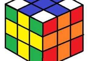 Узоры на кубике рубика 2х2, 3х3, 4х4, 5х5 схемы