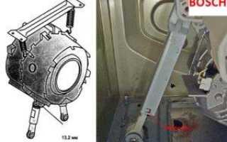 Замена амортизаторов в стиральной машине Bosch