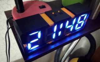 Самодельные электронные часы, элементная база — часть 2