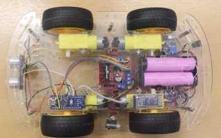 Робот на Ардуино и машинка на Bluetooth своими руками