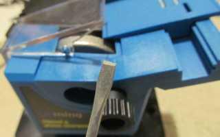 Как выбрать станок для заточки ножниц?