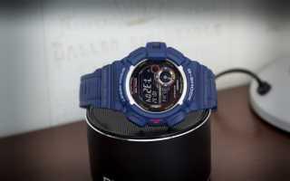 Премиальные, доступные и надежные — G-Shock G-9300-1E
