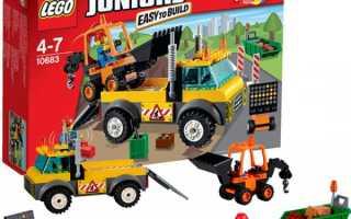 Грузовики из LEGO для игрушечных дальнобойщиков