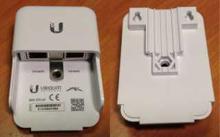 Грозозащита Ubiquiti. Рекомендации по подключению устройств без заземляющего винта на корпусе