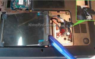Как разобрать и почистить от пыли ноутбук HP Pavilion g6