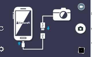 Эндоскоп для смартфона с камерой