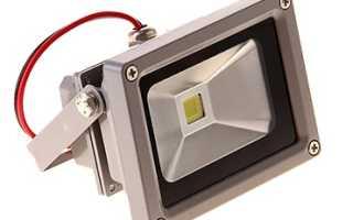 Как светит светодиодный прожектор 10 Вт – расчеты и понятия