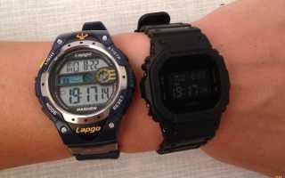 [Обзор G-Shock] DW-5600BBN-1ER — военный ремешок и вид