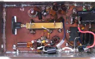 Самый простой высоковольтный генератор на базе старого телевизора. В