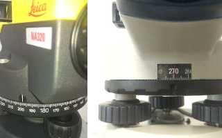 Оптический нивелир: основы работы и настройка своими руками