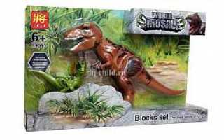 Конструкторы Мир Юрского Периода — Динозавры (аналоги Лего Jurrasic World)