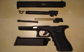 Пневматический страйкбольный пистолет Glock 17 от «WE»