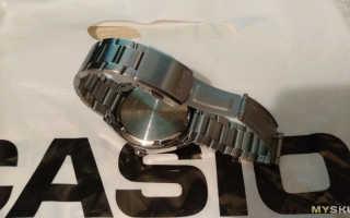 Наручные часы Casio Edifice EF-121D-2A. «Кварцевая рабочая лошадка»