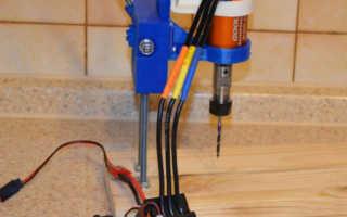 Бесколлекторный мотор GoolRC типоразмера 3660 для настольной сверлилки