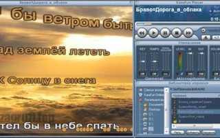 Караоке программа для компьютера на русском