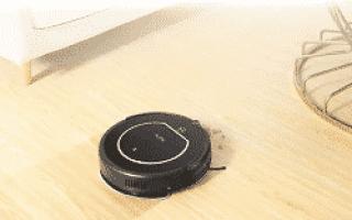 Робот-пылесос iLife V55 с функцией влажной уборки
