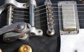 Виды тремоло бриджей для электрогитары: от винтажа до современности