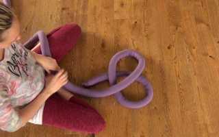 Как изготавливается подушка-узел своими руками для домашнего пользования