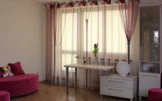 Шторы лапша в интерьере комнат: фото варианты