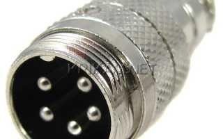 Разъем герметичный SZC13 5P-F-M кабельная вилка + розетка 5pin, 5 А