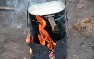 Печь-щепочница с турбонаддувом своими руками. Часть первая.
