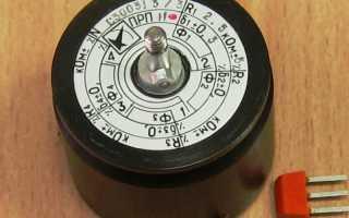 Что такое потенциометр, принцип работы, схема и типы