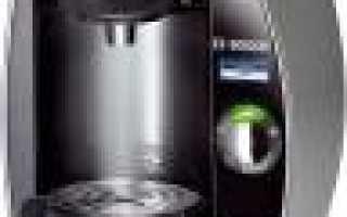 Линейка лучших компактных капсульных кофемашин для дома фирмы Bosch  (2020г.)