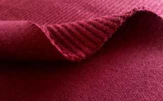 Многообразие материалов в рубчик: выбор подходящей ткани и основные характеристики трех популярных материй
