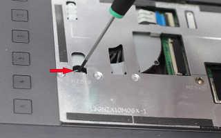 Как разобрать ноутбук для чистки и замены термопасты