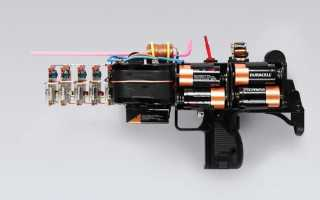 Электромагнитная пушка Гаусса на микроконтроллере