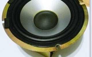 РадиоКот :: Конструкция и характеристики динамических громкоговорителей (динамиков)