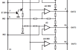 Усилитель на TDA7377 с темброблоком (2 канала по 30Вт)