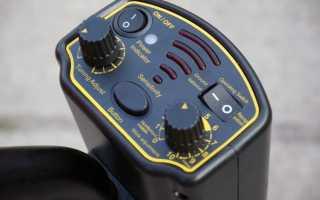 Обзор недорогого металлоискателя Smart Sensor AR944