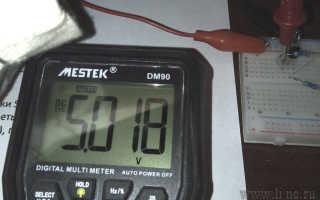 Проверка мультиметром стабилизатора tl431 и схема включения