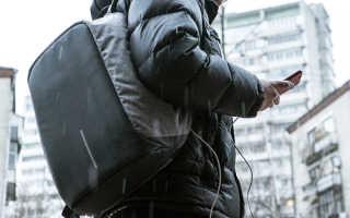 Рюкзак с USB зарядкой для мобильного телефона [промокод внутри]