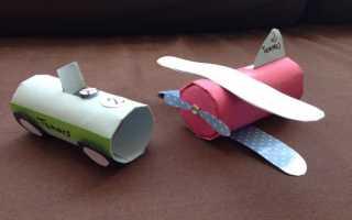 Поделка самолет — как сделать из дерева, бумаги и пластика модель самолета своими руками