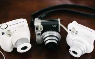 Ностальгия по Polaroid: 9 фотоаппаратов с функцией моментальной печати